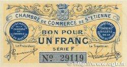 1 Franc FRANCE régionalisme et divers Saint-Étienne 1914 JP.114.01 TTB+