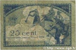 25 Centimes FRANCE régionalisme et divers SAINT-ÉTIENNE 1921 JP.114.05 B