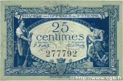 25 Centimes FRANCE régionalisme et divers SAINT-ÉTIENNE 1921 JP.114.05 TTB+