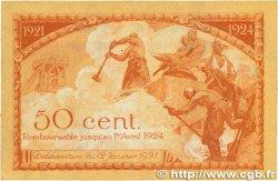 50 Centimes FRANCE régionalisme et divers SAINT-ÉTIENNE 1921 JP.114.06 TTB