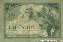 1 Franc FRANCE régionalisme et divers Saint-Étienne 1921 JP.114.07 B