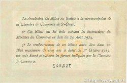 50 Centimes FRANCE régionalisme et divers Saint-Omer 1914 JP.115.07 TTB