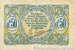 50 Centimes FRANCE régionalisme et divers SAINT-QUENTIN 1918 JP.116.01 TB