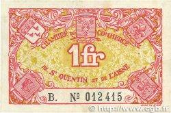 1 Franc FRANCE régionalisme et divers Saint-Quentin 1918 JP.116.03 SUP