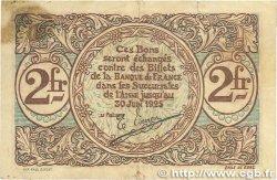 2 Francs FRANCE régionalisme et divers Saint-Quentin 1918 JP.116.08 B+