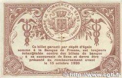 1 Franc FRANCE régionalisme et divers Sens 1915 JP.118.01 TTB