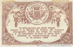 1 Franc FRANCE régionalisme et divers Sens 1915 JP.118.01 TTB+