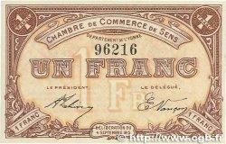 1 Franc FRANCE régionalisme et divers Sens 1915 JP.118.01 SPL