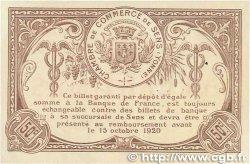 50 Centimes FRANCE régionalisme et divers SENS 1916 JP.118.03 SUP