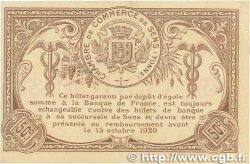 50 Centimes FRANCE régionalisme et divers Sens 1916 JP.118.02 TTB