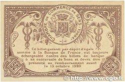 50 Centimes FRANCE régionalisme et divers SENS 1916 JP.118.03var. SUP+