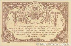 50 Centimes FRANCE régionalisme et divers SENS 1916 JP.118.03 pr.NEUF