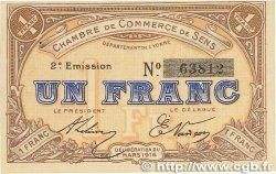 1 Franc FRANCE régionalisme et divers SENS 1916 JP.118.04 SUP
