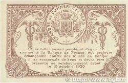 1 Franc FRANCE régionalisme et divers Sens 1916 JP.118.04 SUP+