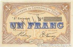 1 Franc FRANCE régionalisme et divers  1916 JP.118.05var. SUP
