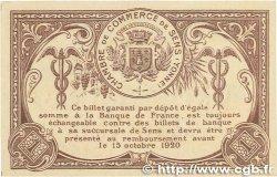 1 Franc FRANCE régionalisme et divers SENS 1916 JP.118.05 NEUF