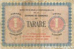 1 Franc FRANCE régionalisme et divers Tarare 1915 JP.119.08 B+