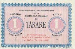 1 Franc FRANCE régionalisme et divers Tarare 1915 JP.119.08 SUP+