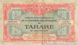 50 Centimes FRANCE régionalisme et divers Tarare 1916 JP.119.16 TB