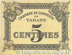 5 Centimes FRANCE régionalisme et divers TARARE 1920 JP.119.35 TTB