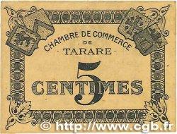 5 Centimes FRANCE régionalisme et divers Tarare 1920 JP.119.38 TB