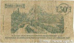 50 Centimes FRANCE régionalisme et divers Tarbes 1915 JP.120.01 B