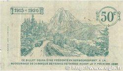 50 Centimes FRANCE régionalisme et divers Tarbes 1915 JP.120.01 TTB
