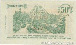 50 Centimes FRANCE régionalisme et divers TARBES 1915 JP.120.01 SUP