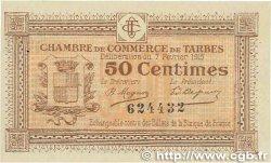50 Centimes FRANCE régionalisme et divers TARBES 1915 JP.120.01 pr.NEUF