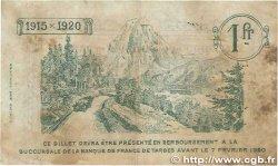 1 Franc FRANCE régionalisme et divers TARBES 1915 JP.120.05 TB