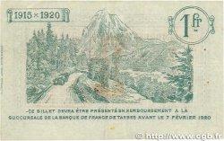 1 Franc FRANCE régionalisme et divers Tarbes 1915 JP.120.05 TTB