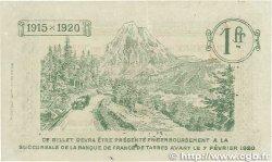 1 Franc FRANCE régionalisme et divers Tarbes 1915 JP.120.05 TTB+