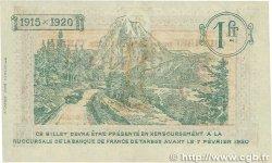 1 Franc FRANCE régionalisme et divers TARBES 1915 JP.120.05 SUP