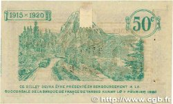 50 Centimes FRANCE régionalisme et divers Tarbes 1915 JP.120.08 TTB