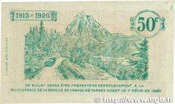 50 Centimes FRANCE régionalisme et divers Tarbes 1915 JP.120.09 pr.NEUF