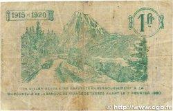 1 Franc FRANCE régionalisme et divers TARBES 1915 JP.120.10 B+