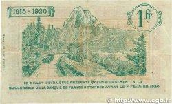 1 Franc FRANCE régionalisme et divers Tarbes 1915 JP.120.10 TTB