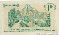 1 Franc FRANCE régionalisme et divers Tarbes 1915 JP.120.11 SUP