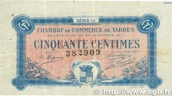 50 Centimes FRANCE regionalism and various Tarbes 1917 JP.120.12 VF
