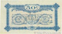 50 Centimes FRANCE régionalisme et divers Tarbes 1917 JP.120.12 TTB+