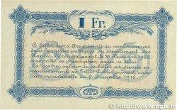 1 Franc FRANCE régionalisme et divers Tarbes 1917 JP.120.14 TTB+