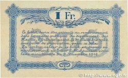 1 Franc FRANCE régionalisme et divers TARBES 1917 JP.120.15 TTB+