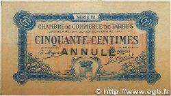 50 Centimes FRANCE régionalisme et divers TARBES 1917 JP.120.17 TTB
