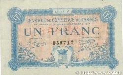 1 Franc FRANCE régionalisme et divers Tarbes 1917 JP.120.18 TTB