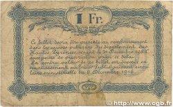 1 Franc FRANCE régionalisme et divers Tarbes 1919 JP.120.22 B