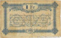 1 Franc FRANCE régionalisme et divers Tarbes 1919 JP.120.22 B+
