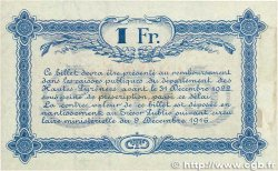 1 Franc FRANCE régionalisme et divers Tarbes 1919 JP.120.23 SUP