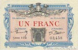 1 Franc FRANCE régionalisme et divers TOULON 1916 JP.121.04 SUP