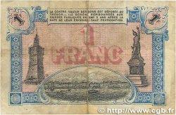 1 Franc FRANCE régionalisme et divers TOULON 1917 JP.121.16 B+