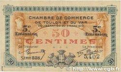 50 Centimes FRANCE régionalisme et divers TOULON 1919 JP.121.26 TTB